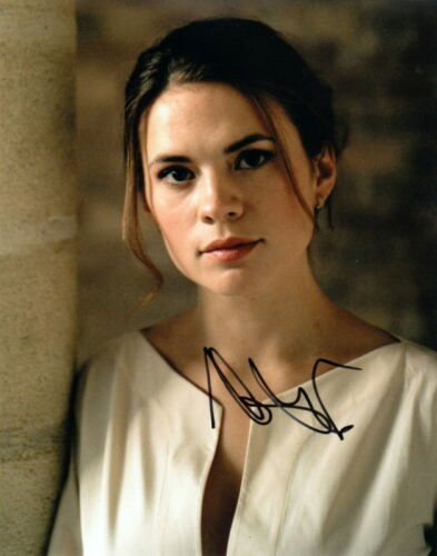 HAYLEY ATWELL.. Alluring Actress - SIGNED