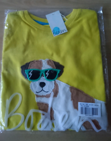 New boden age 9-10 t-shirt and polo top still in packet