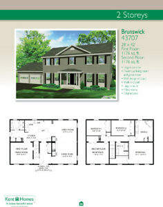 Custom Prefab Homes - Brunswick