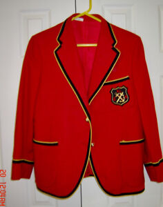 St. Clements Girls School Red Blazers, Tunic and Tie
