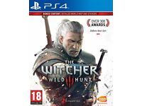 For Sale like New Game The Witcher 3 Wild Hunt