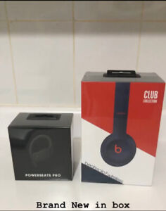 Beats solo 3 and Powerbeats (In Box)
