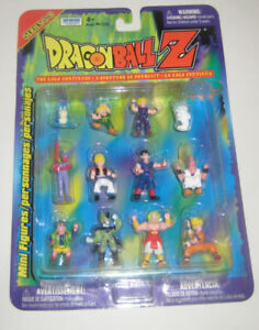 Dragon Ball Z The Saga Continues Series Mini Figures Sets