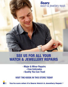 Sears Watch & Jewellery Repair Cambridge Kitchener Area image 1