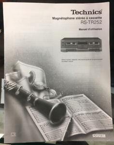 Lecteur cassette TECHNIC RS-TR 252 parfait état