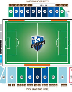 Montreal Impact vs Los Angeles 2 tickets Center Field 106 FF!