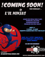 Ninja FIT for Kids and Lil Ninjas