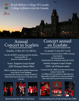 Royal military College Spring Concert - Concert in Scarlets