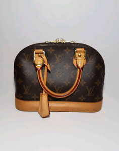 LOUIS VUITTON  ALMA BB MONO