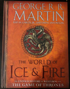 Brand New The World of Ice & Fire George R.R. Martin Hardcover