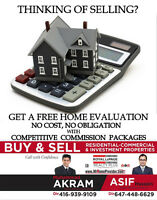 FREE HOME EVALUATION WITH COMPETITIVE COMMISSION PACKAGES