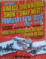 Vintage Snowmobile Show & Swap - Feb 14th, 2016
