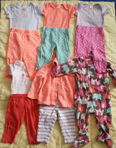 Baby girl clothes 9 months