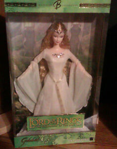 "BARBIE AS GALADRIEL ""The Lord of the Ring"" NEW IN BOX"