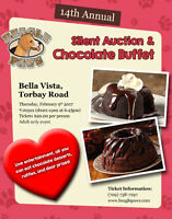 14th Annual Silent Auction and Chocolate Buffet - Beagle Paws
