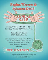 Regina Weavers and Spinners Guild Annual Sale