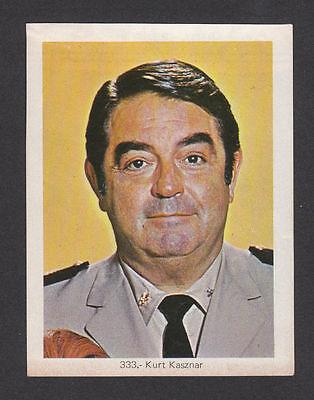 Go ashore of the Giants Kurt Kasznar 1972 TV Card Mexico