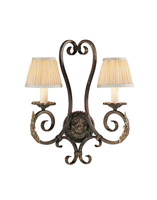 Murray Feiss WB1159PBR Garden Gate Collection Wall Sconce ()