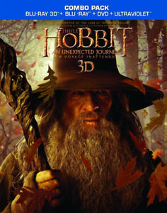 The Hobbit, An Unexpected Journey, 3D Blu-Ray, 5-Disc Combo Pack