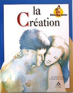 Livre, La création, Bible Junior, Albert Hari, Charles Singer