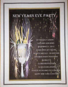 Royal Canadian Galt Legion New Years Eve Party Cambridge Kitchener Area image 1