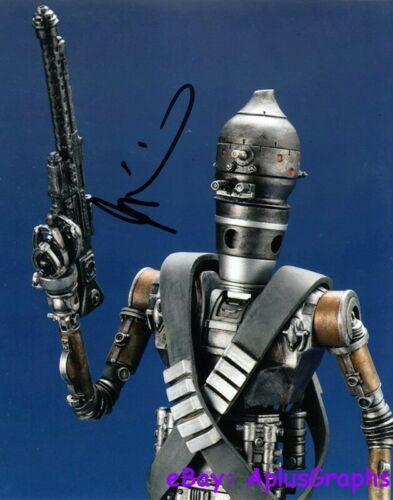 TAIKI WAITITI.. Star Wars' IG-11 (The Mandalorian) SIGNED