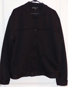 Naked & Famous Men's Black Quilted Jacket Size XL