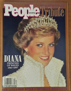 DIANA PRINCESS OF WALES 1961-1997 PEOPLE MAGAZINE Moose Jaw Regina Area image 1