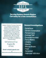 E.O.F.S. Private Investigations