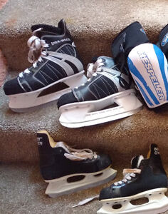 Boys Hockey Skates - Various Sizes Good Used Condition