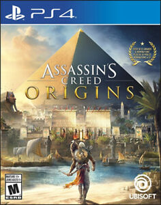 Brand New Assassin's Creed Origins for PS4