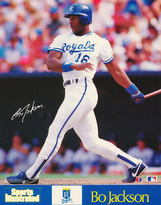 SMALL POSTER: MLB BASEBALL: BO JACKSON - KC ROYALS - FREE SHIP! #6519   RP93 L