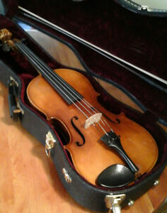 Viola made in Western Germany with case and bow.