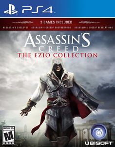 Assassins Creed: The Ezio Collection for PS4