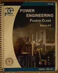 (MAKE AN OFFER) Power engineering Fourth Class Edition 2.5