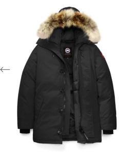 Men's Black label Canada Goose -CHATEAU PARKA FUSION FIT- Large