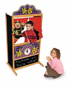 Brand New Melissa & Doug Deluxe Puppet Theater