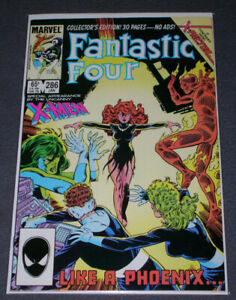 Fantastic Four #286 - VF/NM.  Jean Grey/X-Factor Tie-in