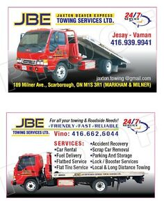 24/7 Towing Services all GTA ( Resealable Prices)