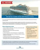 Vancouver Recruitment Event for Shipboard Cruise Staff!!