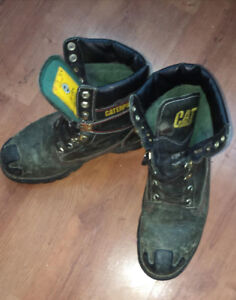 Used Cat Work Boots