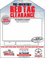 Red Tag Sale!