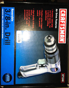 "Craftsman Air 3/8"" Drill"