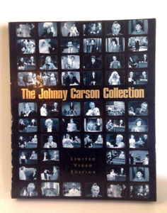 THEJOHNNY CARSON COLLECTION 5 VHS TAPES BOX SET MINT