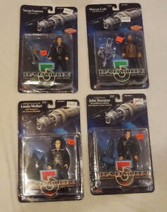 Babylon 5 Factory Sealed Action Figures lot