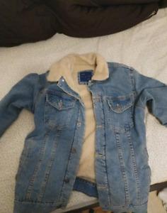 Zara Jean Jacket Size Medium