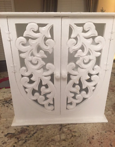 Gorgeous Solid Wood European Wrought iron like Cabinet!!