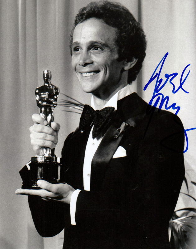 JOEL GREY.. with His Academy Award (Cabaret) SIGNED