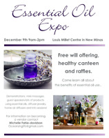 Still looking for vendors for the Essential oil expo