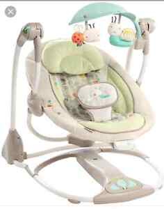 2 in one swing and seat space saving swing